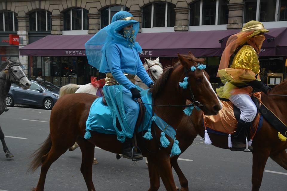Défilé de chevaux 2013