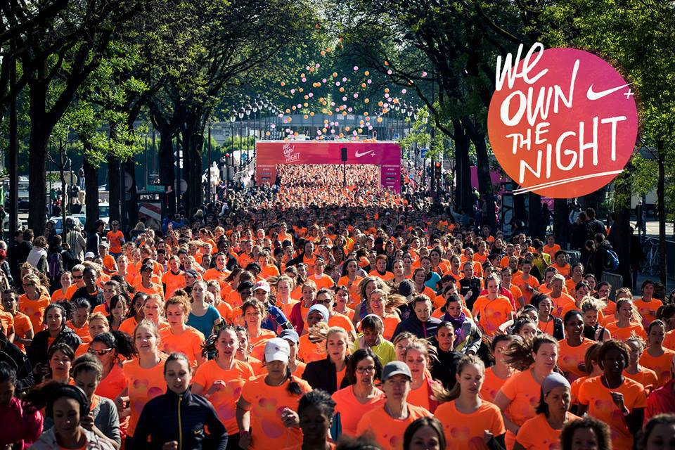 We own the night, les 10km Nike