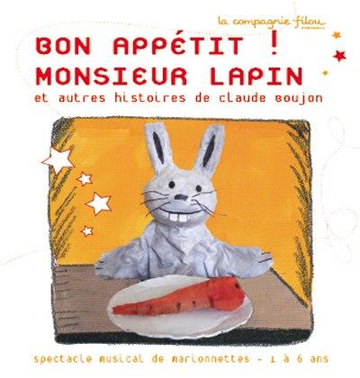 Bon Appétit! Monsieur Lapin
