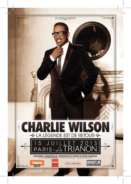 CHARLIE WILSON au Trianon