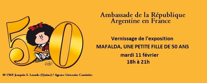 Mafalda, une petite fille