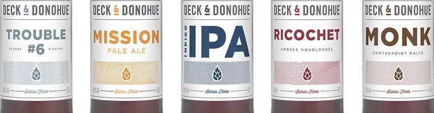 Dégustation Deck&Donohue