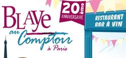 Blaye au Comptoir Paris