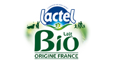 boisson bio aromatisée Lactel
