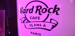 Le Hard Rock Café Paris à 25ans