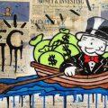Alec Monopoly au Plaza Athénée