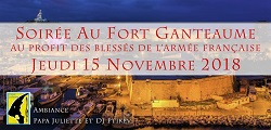 Soirée au Fort Ganteaume