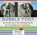 Bubble foot à 210m de hauteur