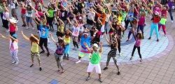 Flashmob pour le Climat Marseille